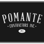 Pomante Contractors Inc, sponsor of the GHMCEF Gala, logo of Pomante Contractors